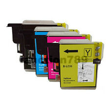 10 PRINT INK CARTRIDGE LC39BK LC39C LC39M LC39Y for Brother DCP-J125 J315w J515w