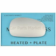 For Seat Leon mk2 09-12 Right Driver side Aspheric wing mirror glass