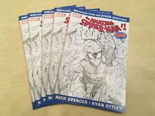 5 COPIES AMAZING SPIDER-MAN #1 BEHIND THE SCENES LIMITED PROMO VARIANT MARVEL