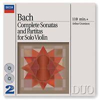Arthur Grumiaux - Bach, J.S.: Complete Sonatas and Partitas for Solo Violin [CD]