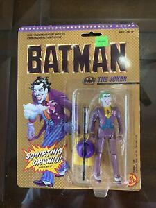 "Vintage 1989 Toybiz Batman JOKER w/ Squirting Orchid 5"" Action Figure"