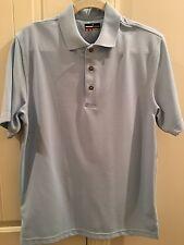 Men's GrandSlam Golf Shirt Sz Md Polyester blue