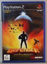 DEFENDER FOR ALL MANKIND - PLAYSTATION 2 - PAL ESPAÑA - COMPLETO