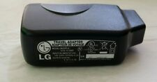 BLACK LG WALL CHARGER ADAPTER US HOME AND TRAVEL FOR USB CABLES