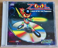"ZOOL NINJA OF THE ""Nth"" DIMENSION-Amiga/Commodore cd³² jeu"