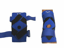 Neoprene Knee Support with Velcro Straps Exercise Knee Mobility Size  (S, M )