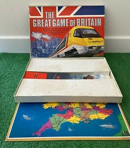 The Great Game Of Britain Board Game Bambola Toys Seven Towns 1981 Complete