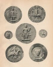 SEALS OF SPANISH KINGS. James I of Aragon 1226 Bulla. Henry of Navarre 1271 1907