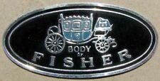 GM FISHER BODY EMBLEM Buick Cadillac Chevrolet Oldsmobile Pontiac #H151