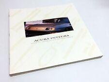 1997 Acura Integra LS GS GS-R Coupe Sedan Brochure