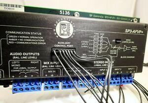 SP Controls SP3-AFVP+ Video Production Pre-Amp Switcher 501-0055PC.B
