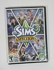 The Sims 3 Ambitions Expansion Pack Computer Game New Sealed
