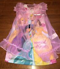 Disney Princess Girl's Nightgown Gown Pajamas Size 4