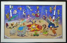 CYBER WEEK BEST OFFERS!RARE DLX LTD HANNA BARBERA FLINTSTONES JETSONS CIRCUS CEL