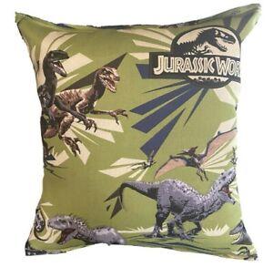 Jurassic Park Pillow Cute Soft Flannel Pillow Kid Safe 100% Hypoallergenic