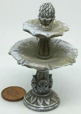 1:12 Scale Non Working Resin Fountain Centre Piece Tumdee Dolls House Miniature