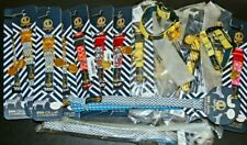 Wholesale Lot 16 SMALL Dog Collars and 2 Leashes Adjustable Gold Tag Hardware