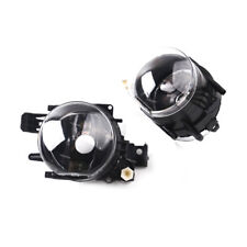 Pair LH RH Clear Lens Fog Light Plastic Lens NO Bulb For 2006-08 BMW 750Li 750i