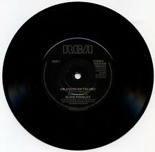 Elvis Presley 128 RCA GOLD 506 American Trilogy Suspicious Minds RARE BLACK VG+