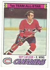 1977-78 Topps #200 Guy Lafleur Montreal Canadiens NHL Hockey