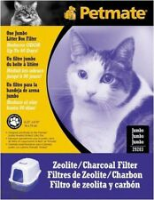 Petmate Zeolite Charcoal Filters For Hooded Cat Litter Boxes Jumbo