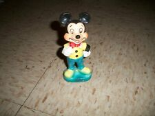 Disney World VINTAGE Mickey Mouse Ceramic Porcelain Figure Figurine Disneyland