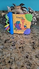 Kids Ii Soft Crinkle Book With Teethers And Other Sensory items