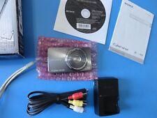 Sony Cyber-shot DSC-W570 16.1MP Carl Zeiss Lens 5X Zoom Digital Camera - Silvery