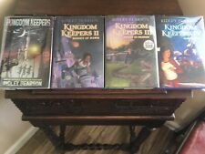 THE KINGDOM KEEPERS: vols 1-4, Ridley Pearson, all SIGNED 1st prints HCDJ