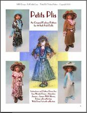 """Petits Plis"" Fashion Pattern for Kish Chrysalis Dolls"