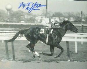 Jacinto Vasquez Ruffian signed 8x10
