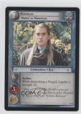 2001 The Lord of the Rings TCG: Fellowship Ring #1U51 Legolas Gaming Card 0b5
