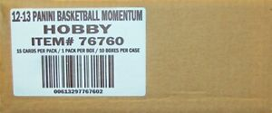 2012-13 Panini Momentum Basketball Hobby 10-Box Case