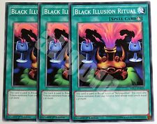 MIL1-EN020 3x BLACK ILLUSION RITUAL (Rito Illusione Nera) Common Yugioh