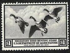 Us Stamp #Rw3 1936 Federal Duck Stamp Og Mnh