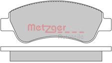Bremsbelagsatz Scheibenbremse Vorderachse - Metzger 1170026