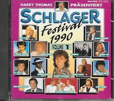 V/A - Schlager Festival 1990 VOLUME 1 CD Album 20TR (ARCADE) Andy Borg Xanadu