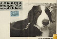 Publicité 1985  (Double page)  FNAC  L'oxygène de la tete micro-ordinateurs