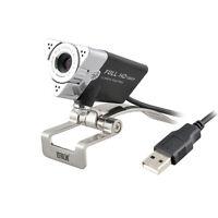 Aoni-Full HD 1080P Desktop Computer Live Camera With Mic USB Video Webcam 12MP