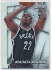 #285 MARKEL BROWN 2014-15 Panini PRIZM SILVER REFRACTOR RC NETS