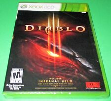 Diablo Iii Microsoft Xbox 360 *Factory Sealed! *Free Shipping!