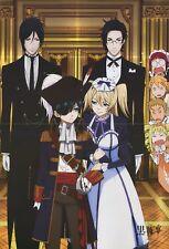 poster promo Black Butler Kuroshitsuji anime Hakuoki Hakuouki Sebastian Claude