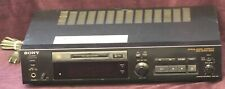 Sony Mds-302 MiniDisc Recorder (No Remote) Untested