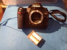 *Nikon D70s - Good Shape w Battery And Charger *Body Only Shutter count 13678