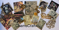 Craft clearout mix, card toppers / paper die cuts, bundle joblot vintage cog3