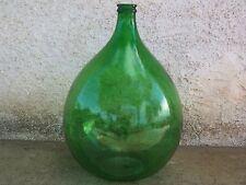 antica antiche damigiana-damigiane 50-52-54 LT vetro verde decoupage arredo