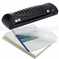 More details for 100 x high quality a3 a4 a5 150 micron laminating laminator pouches sheets