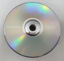 BLANK MEMOREX DVDs Discs DVD+R 16X 4.7GB 120 min Logo Branded DVD+R DVDR 25 Pack
