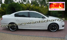 VW PASSAT B6 3C SIDE SKIRTS R36 / R-LINE LOOK !!! NEW !!! NEW !!!