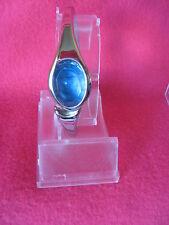 Sanrio Hello Kitty Bracelet Wrist Watch Stripe Spring Hinge Vintage '76, '01 NEW